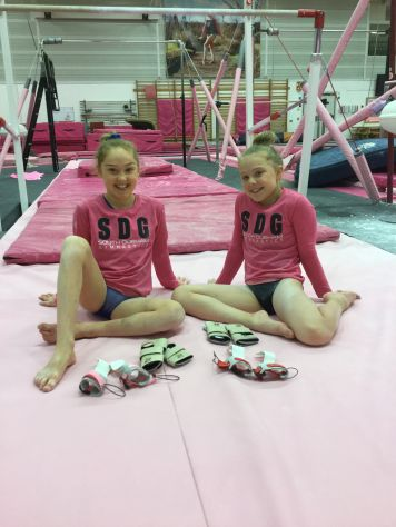 Gymnastic Express Sponsor Pink Ladies!