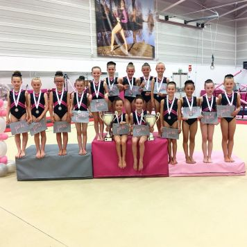 Pink Events 2 Piece Team Championships 2018