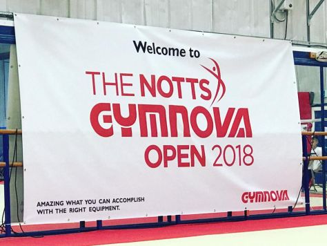 The Notts Gymnova Open 2018